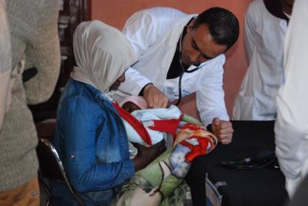 2500 مستفيد من قافلة طبية متعددة التخصصات في زاكورة
