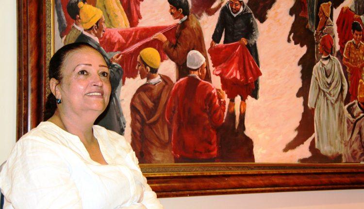 فاتحة الخلفاوي إيقونة جامعية،تحدوها المواطنة ورسم معالم الثقافة المغربية