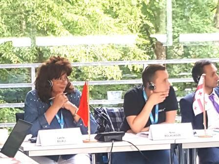 مركز التنمية لجهة تانسيفت يشارك في لقاء علمي بألمانيا حول الحكامة