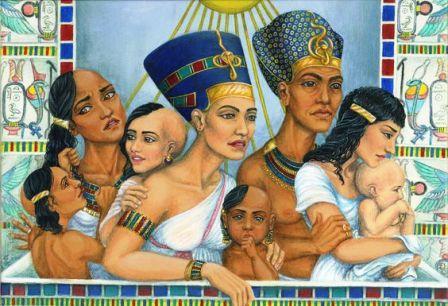 أصل الفراعنة الذين حكموا مصر وأسسوا الأهرامات وأبا الهول