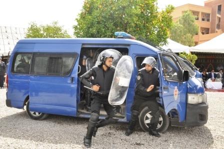 رصاصة من رجل أمن لتحذير ثلاثة مسلحين بالدار البيضاء