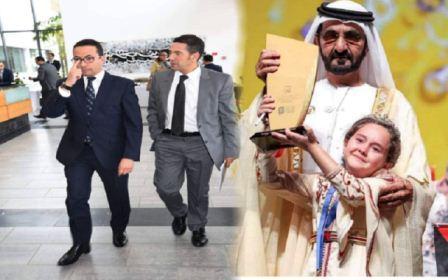 """وزير التعليم يستقبل التلميذة مريم أمجون""""بطلة تحدي القراءة العربي"""""""