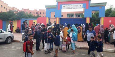 مدرسة أحمد بوكماخ بمراكش على بركان يسيءُ للعملية التربوية