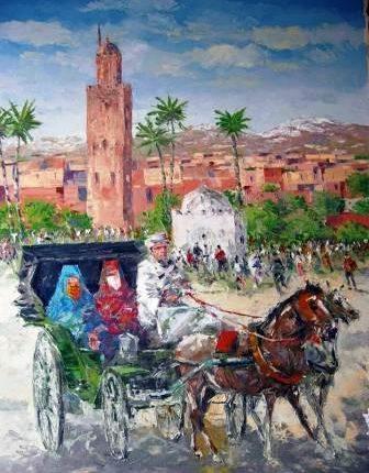 إنطباعية مرموقة : مراكش كما رآها