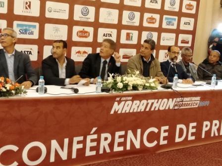 الدورة 30 للمارطون الدولي لمدينة مراكش تنطلق يوم 27 يناير الجاري