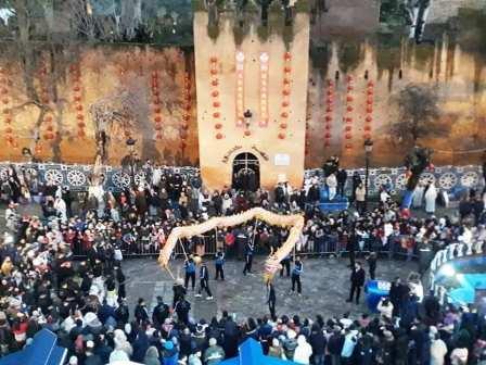 إنفتاح: شفشاون تحتفل ببداية العام الصيني الجديد