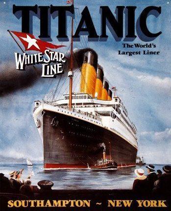 """وثائق جديدة تكشفُ خطأ بشريا وراء  غرق """"التيتانيكــ"""""""