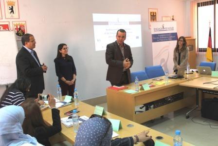 دار المنتخب لجهة مراكش اسفي مساهمة في تقوية القدرات النسائية للأحزاب السياسية