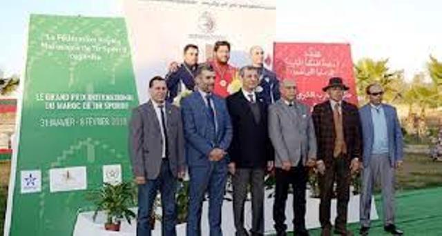 جائزة المغرب الدولية الكبرى للرماية الرياضية من نصيب الإسباني مينوز والإيطالية سيلفانا