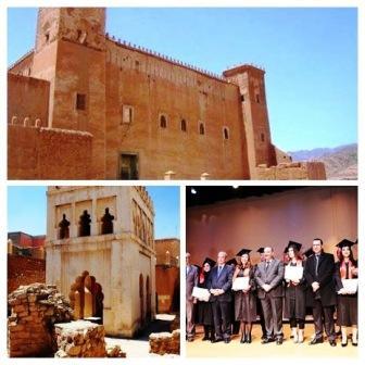 حفل تخرج طلبة المعهد الوطني لعلوم الآثار والتراث في الرباط
