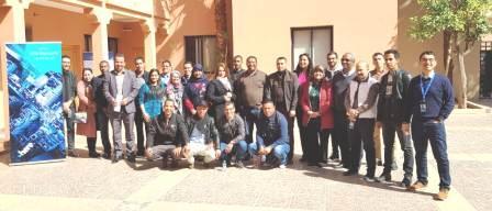 نظم المعلومات الجغرافية في دورة تكوينية دار المنتخب في مراكش