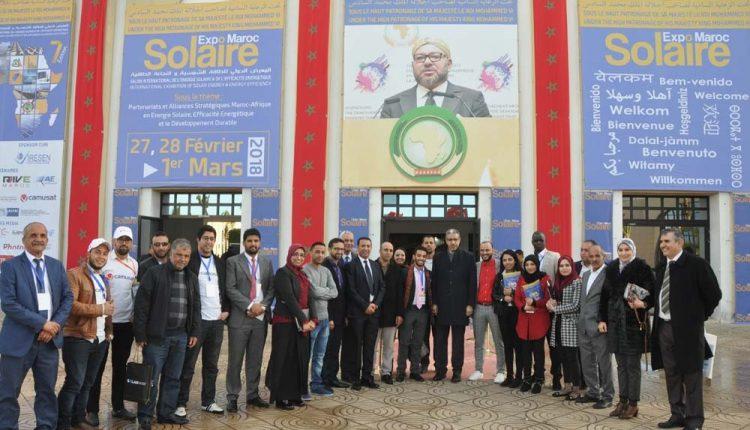 معرض الطاقة الشمسية بالدار البيضاء يستمر في أفق تنمية القطاع وطنيا وعالميا