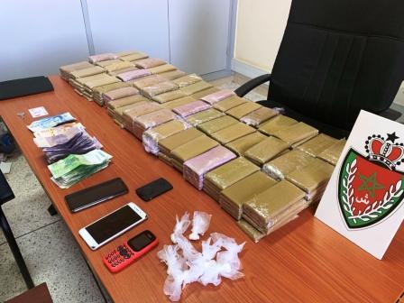 الشرطة القضائية بمراكش تضع اليد على تاجر كوكايين ومخدرات أخرى