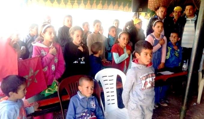 تلاميذ مدارس واد تانسيفت بشيشاوة يلتئمون حول أنشطة تربوية