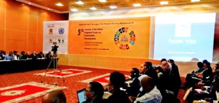 المنتدى الإفريقي للتنمية المستدامة ينطلق اليوم الأربعاء بمراكش