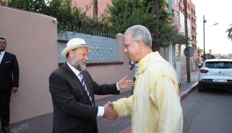 الطائفة اليهودية بمراكش تحتفي بالدبلوماسية الروحية في ظل إمارة المؤمنين