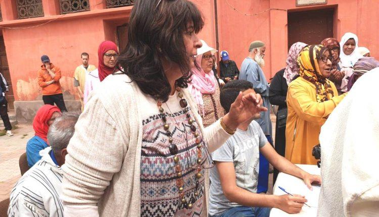 فرع المنظمة العلوية لرعاية المكفوفين بمراكش يستمر في أنشطته التضامنية خلال شهر رمضان