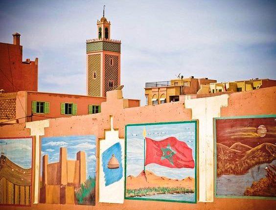 مسجد الأمير مولاي رشيد،مَعْلَمة وضاءة في مدينة الرشيدية