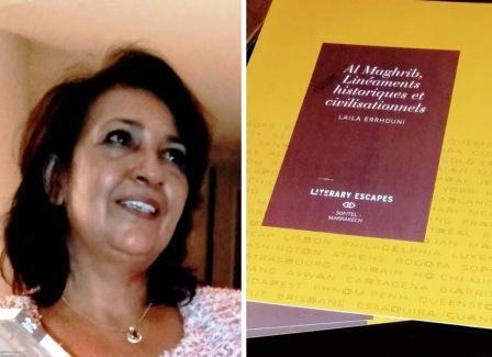 ليلى الرهوني،باحثة تكشف حفريات تاريخ المغرب القديم وآثاره على الحضارات المتوسطية