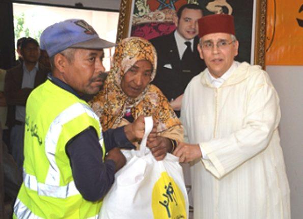 """عملية الدعم الغذائي """"رمضان 1440هـ"""" تنطلقُ بإقليم ورزازات"""