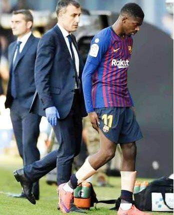 """برشلونة يضع نفسه في عنق الزجاجة بعد خسارة """"مباراة وديمبلي"""""""