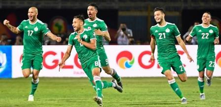 الجزائر تهزم السنغال، وتلتحق بالمغرب ومصر ونيجيريا