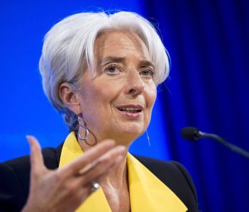 الفرنسية كريستين لاغارد رئيسةً للبنك المركزي الأوروبي