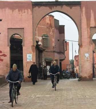 إعتقال أشخاص مُتلبسين بابتزاز سُياح في باب أيلان بمراكش