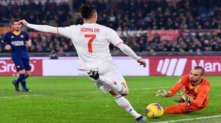 """رونالدو يضع يوفنتوس على قمة """"الكالتشيو"""""""
