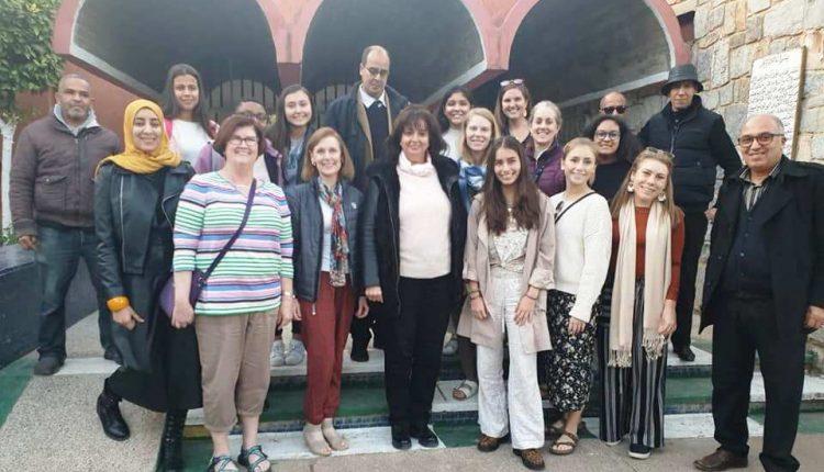 خبراء تربويون إمريكيون يزورون معهد ابي العباس للمكفوفين في مراكش