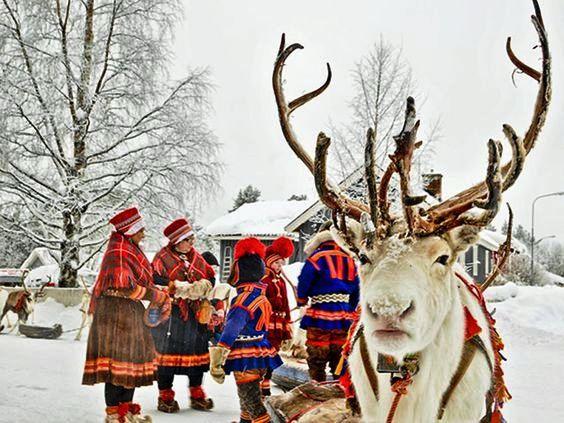 سباق غزلان الرنة، تظاهرة فلكلورية في السويد منذ 400 سنة