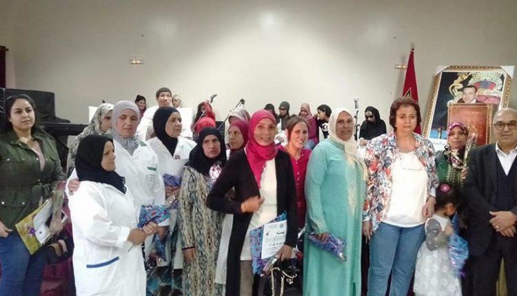 ثقافة الإعتراف والتثمين تطبع إحتفالية عيد المرأة بمعهد ابي العباس السبتي للمكفوفين في مراكش