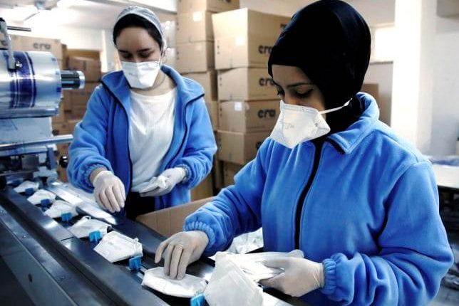 إنتاج وتوزيع أربعة ملايين كمامة وتوزيعها بالمجان على ساكنة جهة طنجة تطوان الحسيمة