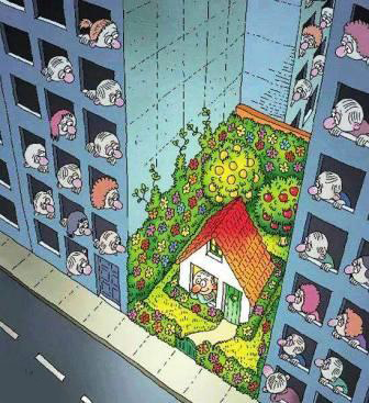 """جائحة """"كورونا"""" تضع إشكالية السكن الكثيف ومدى ملاءمته، تحت مجهر البحث عن الحلول"""