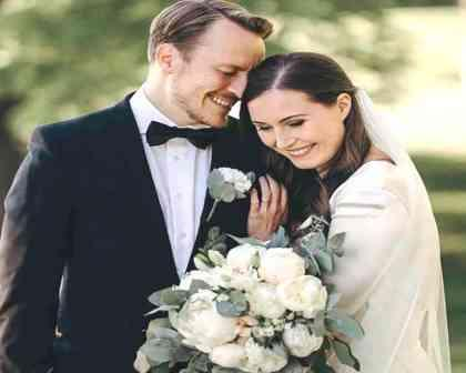 """""""سانا مارين""""،رئيسة وزراء فنلندا تتزوج بالرجل الذي أحبته لـ 16 سنة"""