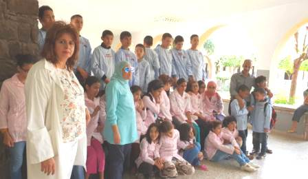 """جمعية أمهات وأباء تلاميذ معهد السبتي للمكفوفين بمراكش يستنكرون """"الهجمة المُشخصنة"""" على الرئيسة بلالي"""