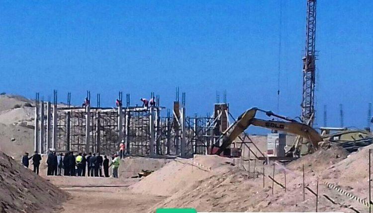 تقدم أشغال مشروع المحطة الجديدة لتحلية المياه بالعيون