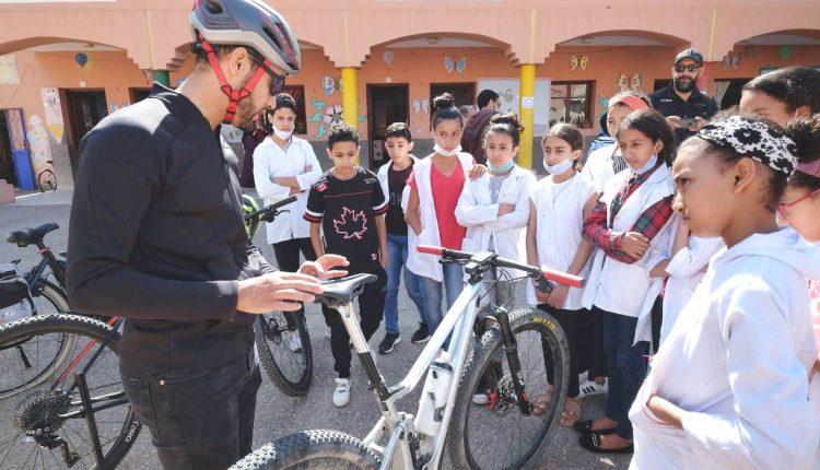 الحطري: ركوب الدراجة الهوائية بمراكش رسالة بيئية تربوية وممارسة صحية حضارية