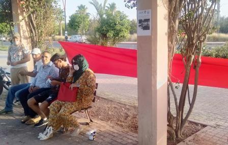 من أجل الحفاظ على بيئة وجمالية شارع محمد السادس في مراكش