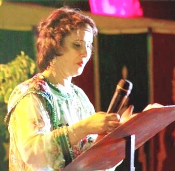 زميلتنا ثريا بلوالي، وكيلة اللائحة التشريعية لحزب البيئة والتنمية المستدامة بدائرة المنارة مراكش